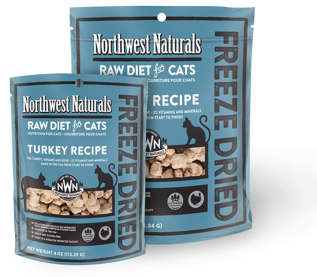 Freeze dried cat nibbles northwest naturals for Freezing fish oil