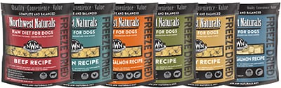 northwest naturals raw dog food - camping with your dog