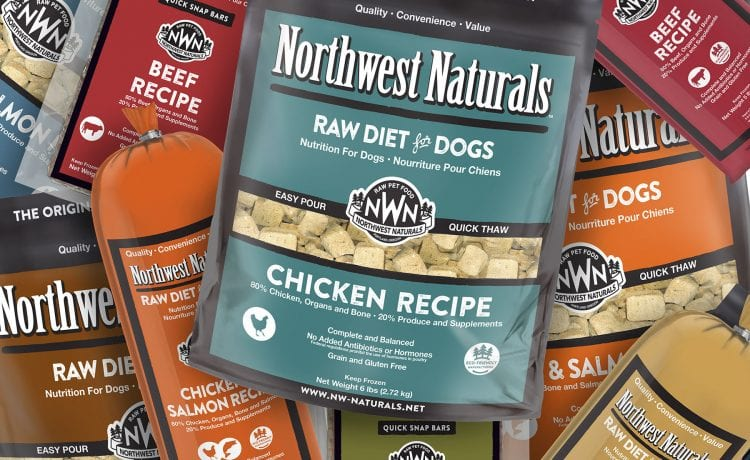 Raw Diet for Dogs from Northwest Naturals