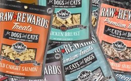 Raw Rewards Treats for Dogs and Cats from Northwest Naturals