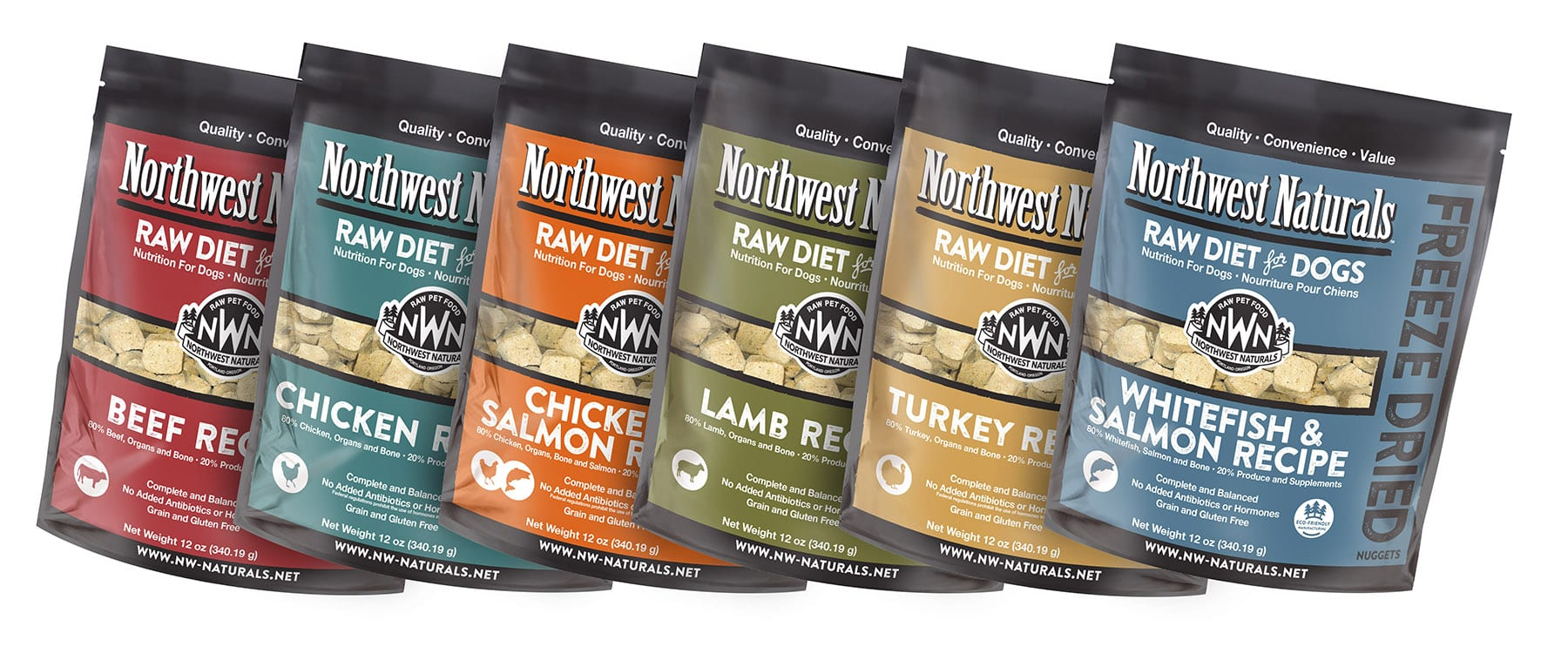 Freeze Dried Raw Diet for Dogs from Northwest Naturals