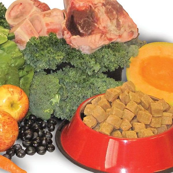 Raw food, raw bones, fruits and veggies - Benefits of Feeding Raw