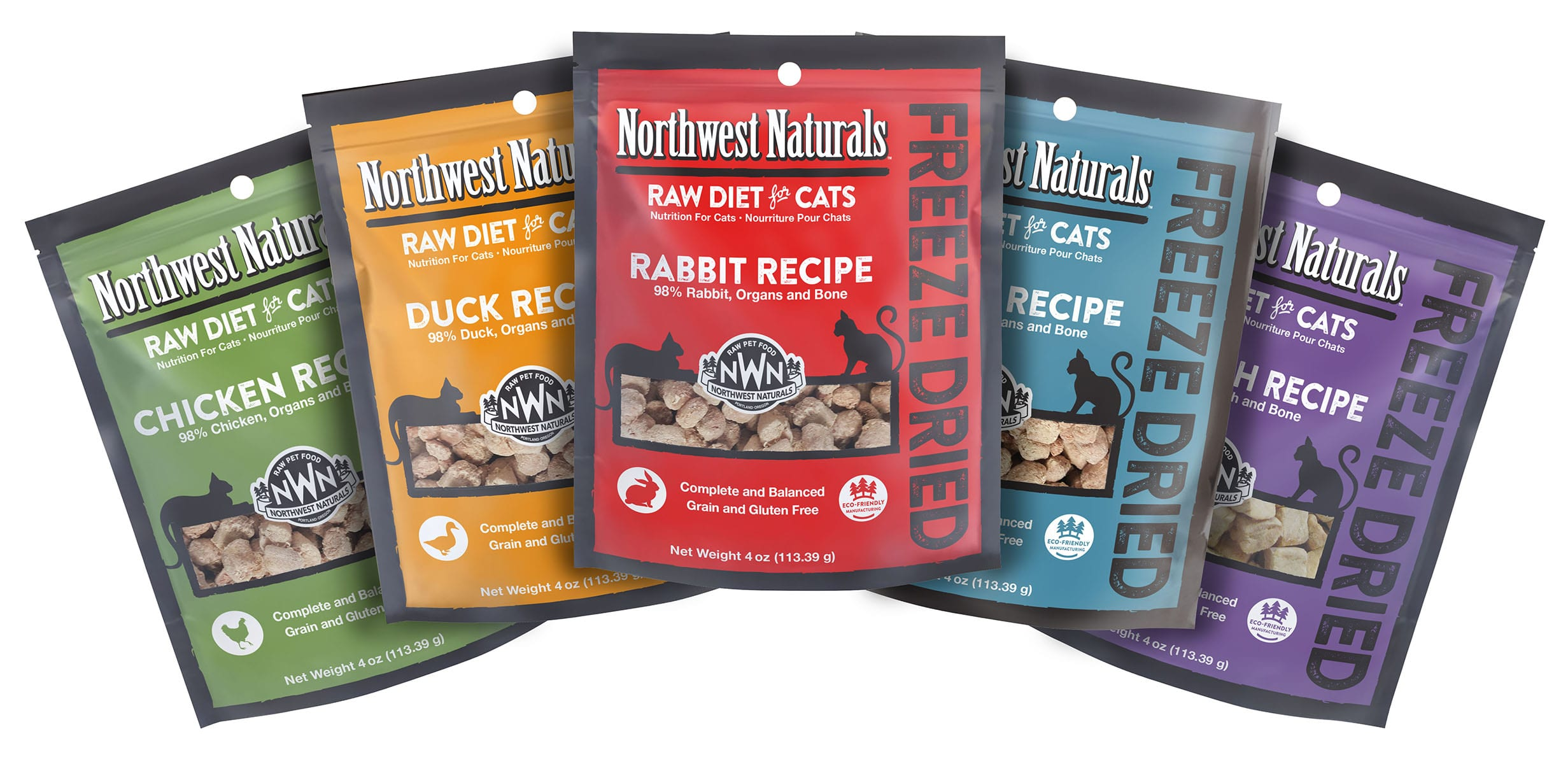 Freeze Dried Cat Nibbles from Northwest Naturals