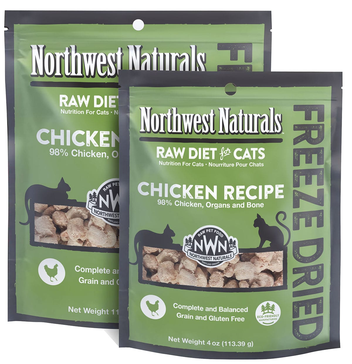 Chicken Recipe Freeze Dried Cat Nibbles from Northwest Naturals