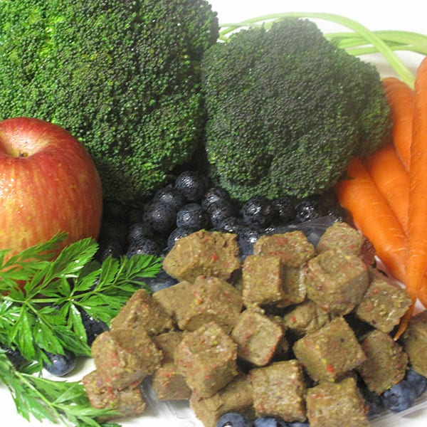 Raw food, fruits and veggies - Raw Frozen Nuggets Fruits and Veggies