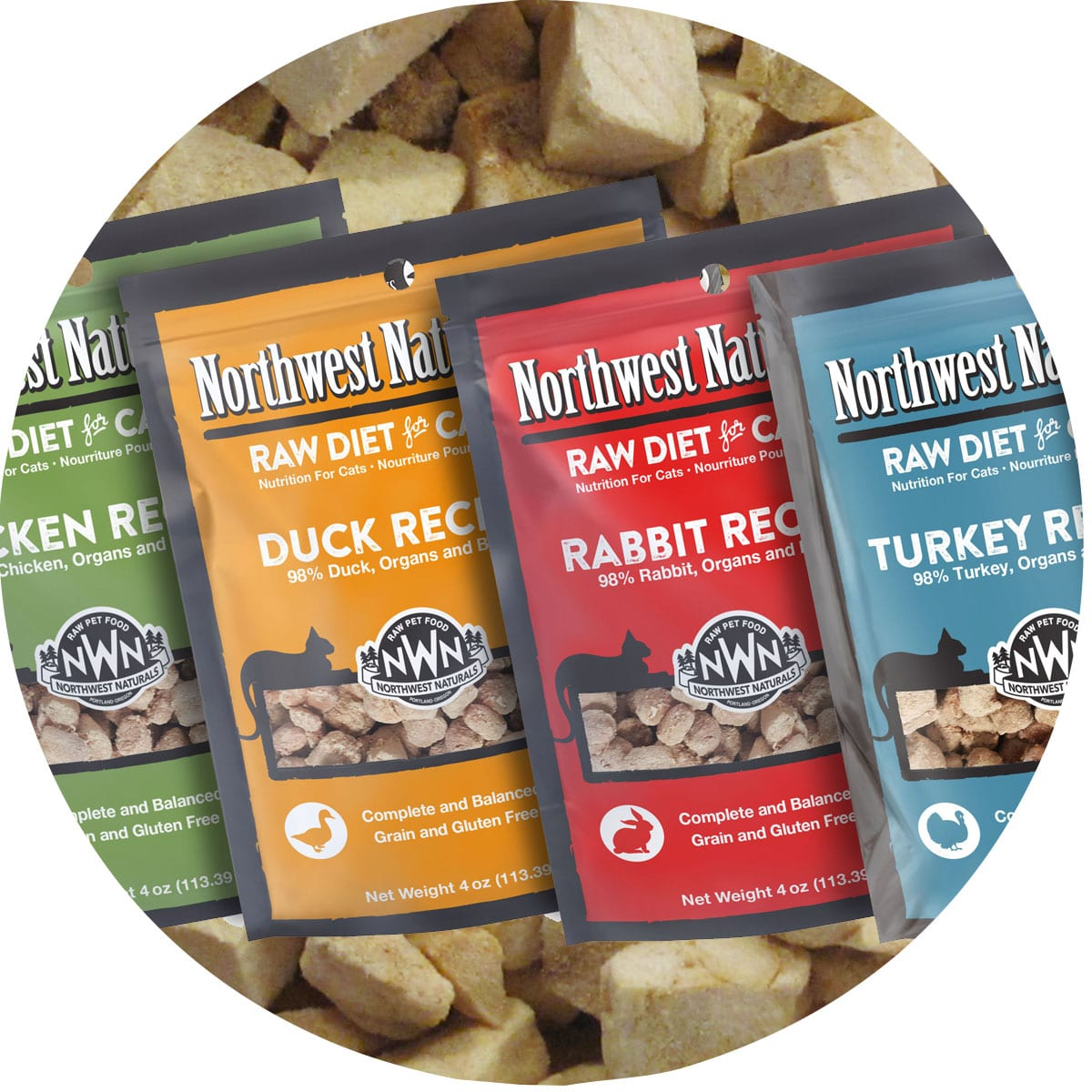 Raw Freeze Dried diets for cats