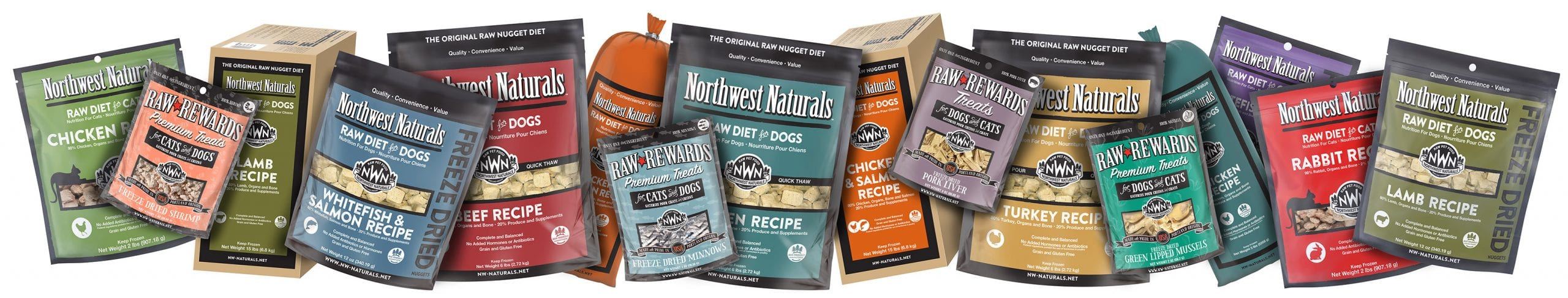 Northwest Naturals Raw Diet for Dogs & Cats Products