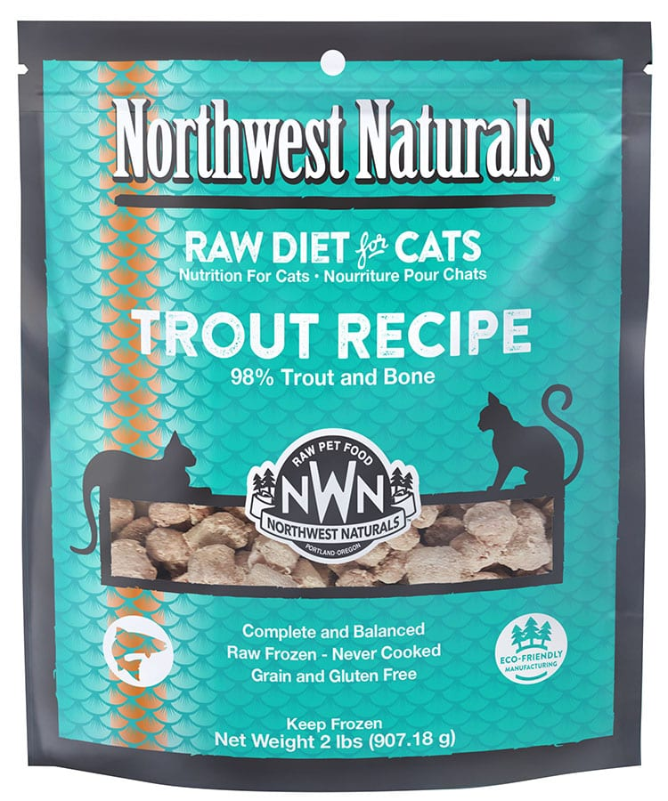 Raw Trout for Cats
