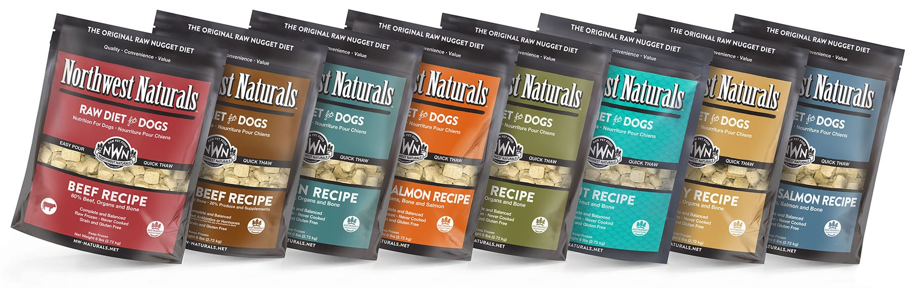 The Original Raw Nuggets for Dogs!
